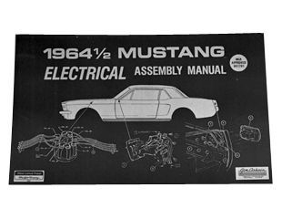 1964 Ford Mustang Technisches Handbuch - Elektrik