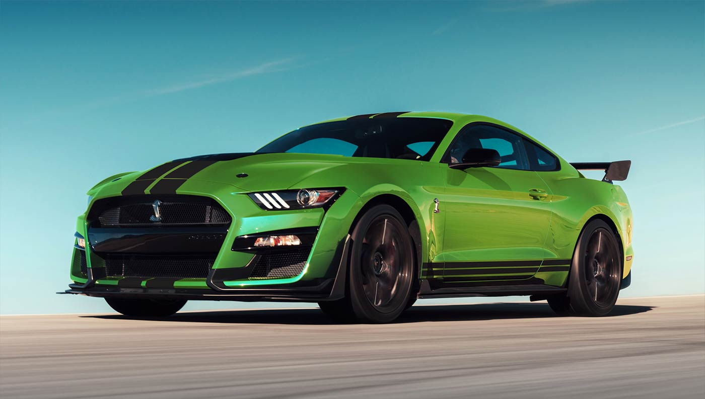 2020 Ford Mustang neue Lackierung