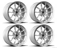 15-20 Ford Mustang Felgensatz - Shelby CS5 - 9,5x19 Zoll und 11x19 Zoll - Chrome Powder