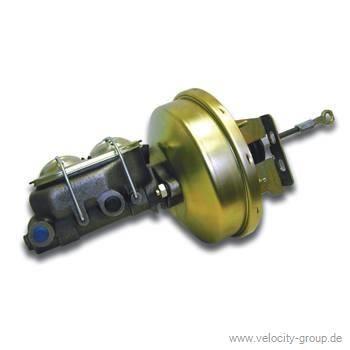 67-70 Ford/Mercury Bremskraftverstärker und Hauptbremszylinder - Umrüstsatz