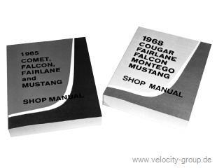 1966 Ford Mustang Reparaturhandbuch